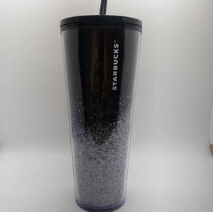 Starbucks MIRROR GLITTER Black cold cup